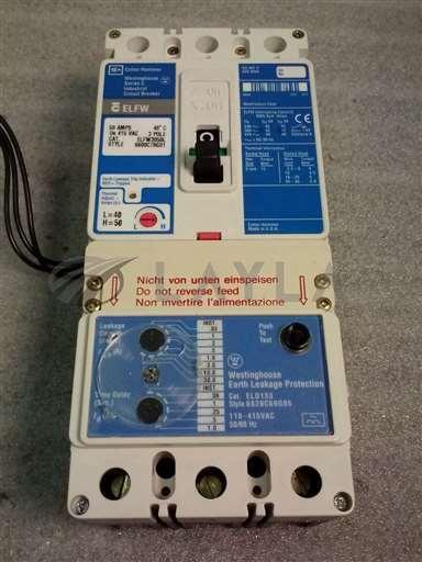 /-/Cutler Hammer ELFW3050L Circuit Breaker w/ Westinghouse ELD133Leak Protection//_01