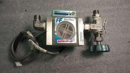 /-/Tokyo Flow Meter Co.FF-MOA 80 Fin-Flo Flow Meter w/ Manual Valve//_01