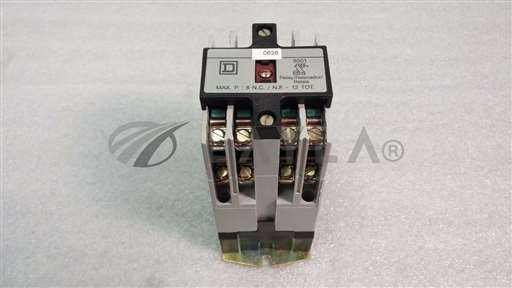 /-/Square D 8501 Control Relay Type X//_01