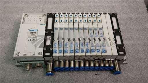 /-/Festo MPA-CPI-VI Terminal Interface Manifold w/ 10 valves 7) 533343, & 3) 556841//_01