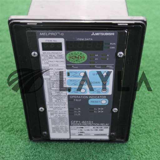 -/-/MitsUbishi Melpro-D CFP1-A01D1 FEEDER PROTECTION RELAY/-/_01