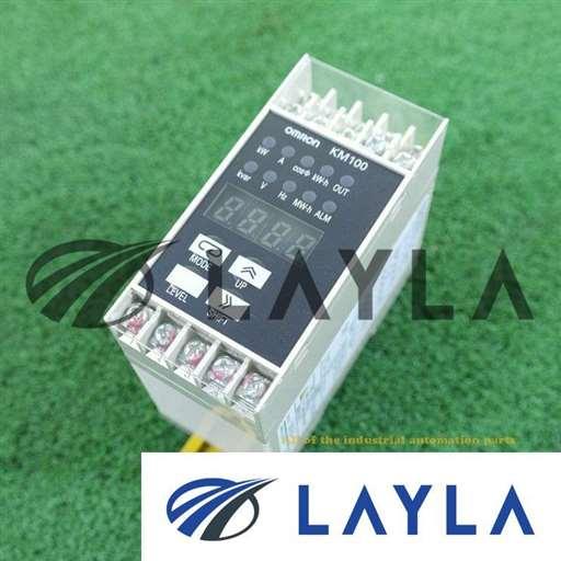 -/-/OMRON KM100-T-FLK POWER MONITOR AC100-240V/-/-_01