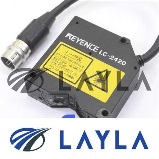 -/-/KEYENCE LC-2420 LASER HEAD.[AS-IS]/-/-_01