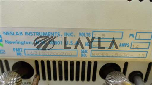 163103200700/RTE-110/Recirculating Bath Used Tested Not Working As-Is/Neslab/-_01