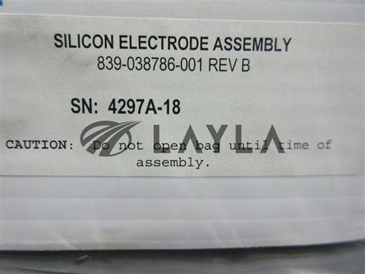 839-038786-001/-/Research Research Silicon Electrode Assembly New/Lam/-_01