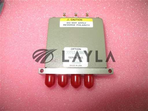 33312-60005 84001-60624/-/COAXIAL SWITCH MAX RF POWER 1W CM/Agilent/_01