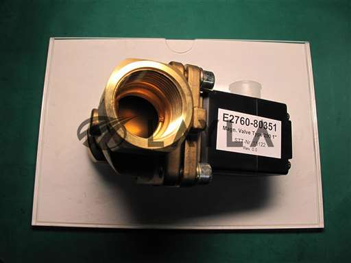 "E2760-80351/-/Magn. Valve Type290 1"" /24VDC/Agilent/_01"