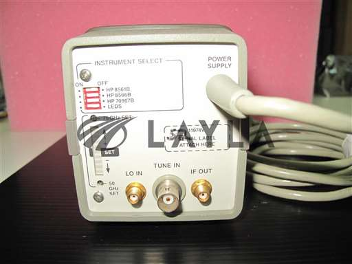HP11974V/-/POWER SUPPLY 50-75 GHZ PRESELECTED RF SECTION/Agilent/_01