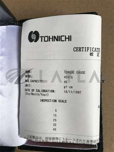 45ATG//TOHNICHI Torque GAUGE 45ATG */TOHNICHI/_01