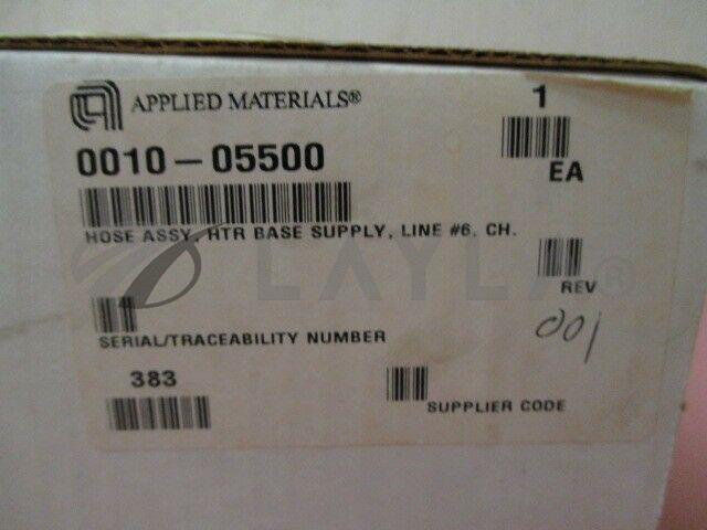 0010-05500/-/AMAT 0010-05500 Hose Assembly, HTR Base Supply, Line #6, CH./AMAT/-_07