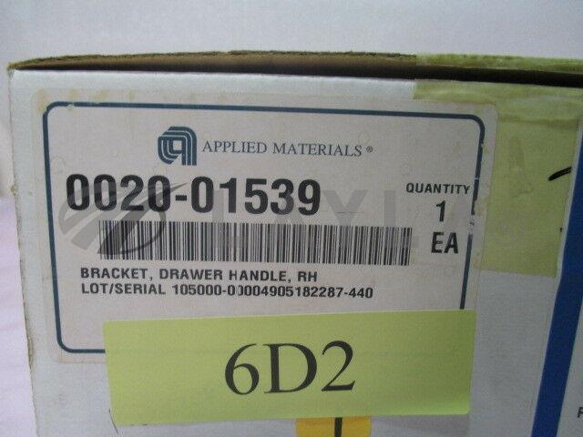 0020-01539/-/AMAT 0020-01539, Bracket, Drawer Handle, Right Handed. 415281/AMAT/-_07