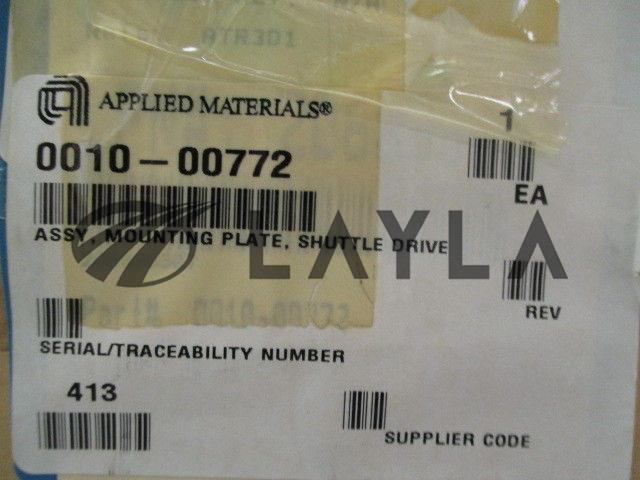 0010-00772/-/AMAT 0010-00772 Assy, Mounting Plate, Shuttle Drive, Assembly/AMAT/-_07