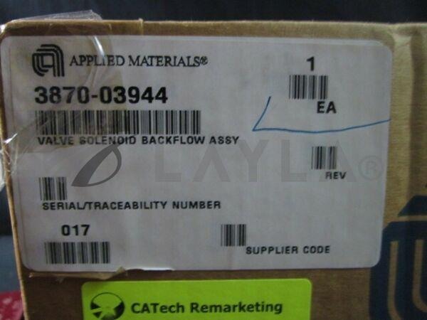 3870-03944/-/Solenoid Valve BACKFLOW Assembly/Applied Materials (AMAT)/Applied Materials (AMAT)_04