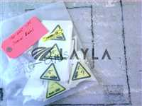 3910-01105//LABEL CE WARNING CORROSIVE MAT'L TRIANG/Applied Materials/_01