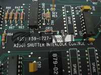 -/-/SVG 879-0262-001 Shutter interlock control PCB 859-0727-010E/-/-_03