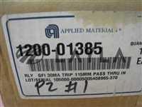 1200-01385/-/NEW AMAT 1200-01385 RLY GFI 30MA TRIP 115MM PASS THRU IN/AMAT/-_02