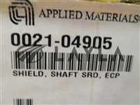 0021-04905/-/9 AMAT 0021-04905 Shield, Shaft SRD, ECP 326590/AMAT/-_03