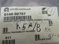0140-02757/Emax 300MM Chamber Interlock/AMAT 0140-02757 Harness Assembly, Emax 300MM Chamber Interlock 413809/AMAT/_02
