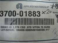3700-01883/-/20 new AMAT 3700-01883 ORING ID 1.176 CSD .070 VITON DURO/AMAT/-_02