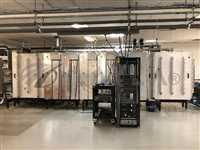 Sencera In-line Sputter 6 target large panel DC power supply vacuum & Turbo pump