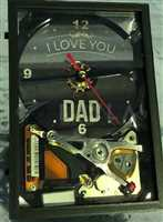 Personalized Custom Gift HDD Clock Hard Drive Gratitude Congratulations Birthday