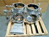 Thermionics 595319 Chamber, VAT F-40860-01 Gate Valve, High VAC, Turbo, 100999