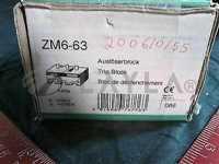 ZM6-63//Klockner-Moeller ZM6-63 OVERLOAD ZM-6-63 KLOCKNER MOELLER