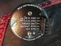 MKS 122AA-00100AB PRESSURE TRANSDUCER TYPE 122A