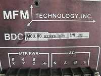MFM BDC400X-2678 CONTROLLER, WAFER SPINDLE
