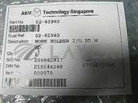 02-82393//ASML 02-82393 PCB, WORK HOLDER I/O