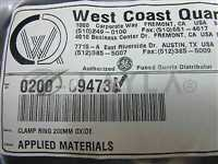 Applied Materials (AMAT) 0200-09473 CLAMP RING 200MM OXIDE