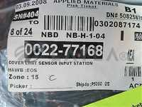0022-77168//Applied Materials (AMAT) 0022-77168 COVER LIMIT SENSOR INPUT STATION