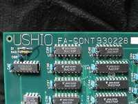 9706024-U00//USHIO 9706024-U00 CONTROLLER, FA, FA-CONT 930228
