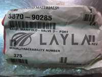 3870-90285/-/BASE, MANIFOLD-VALVE 3- PORT/Applied Materials (AMAT)/-_03