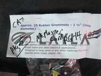 """RG-14-Pkg-25-NO/-/Generic RG-14 Rubber Grommets, 1 1/2"""" (inside Diameter) Pack of 25--Not in origi/-/-_03"""