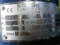RM-PP-12-150-30S//SONDERMANN RM-PP-12-150-30S MAGNETICALLY COUPLED CENTRIFUGAL PUMP; 2004030058, M