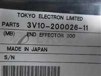 3V10-200026-11//TEL 3V10-200026-11 EFFECTOR, END 200mm Ceramic