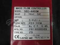 SEC-4400M-C-SUC-SIH2CL2-200CCM-NO//HORIBASTEC SEC-4400M-C-SUC-SIH2CL2-200CCM MFC,VALVE C, TREAT SUC, GAS SIH2CL2