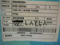 KMFA-414220/-/SEMES Tank-SC-1 Mixing Tank [B] ;KMFA-414220 PTFE