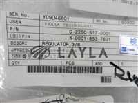 3/8/-/EBARA Surpass Regulator; 3/8 , C-2250-517-0001,X-0001-853-7501
