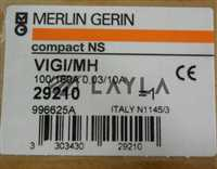29210/-/Merlin Gerin; 29210, Compact NS 100/160A 0,03/10A