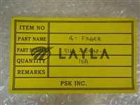 5160-04198-E/-/PSK Inc.; Supra3 TM Robot Blade P/N: 5160-04198-E