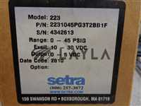2231045PG3T2BB1F/-/SETRA,2231045PG3T2BB1F, Pressure Transducer, Range 0-45 PSIG
