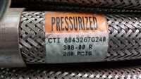 /-/Senior Electronics CTI 8043267G240 SS Braided Flex Line 25'326-00L 260 PSIG//_02
