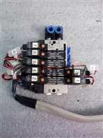 VJ3133T - VJ3233T/-/VJ3133T - VJ3233T Solenoid Block w/ Cable 5-10 Port/SMC/TEL_02