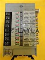 CKD N4S0-T50 8 Port Pneumatic Manifold N4S030 Solenoid Valve Lot of 4 Used
