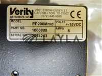 Verity Monochromator Detector Axcelis 485211 Fusion ES3 Used