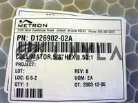 TEL Tokyo Electron D126902-02A Collimator New