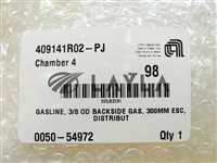 "0050-54972//AMAT Applied Materials 0050-54972 3/8"" OD Backside Gasline 300mm New"
