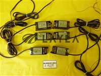 Laser Thrubeam Photoelectric Sensor Lot of 6 Used Working